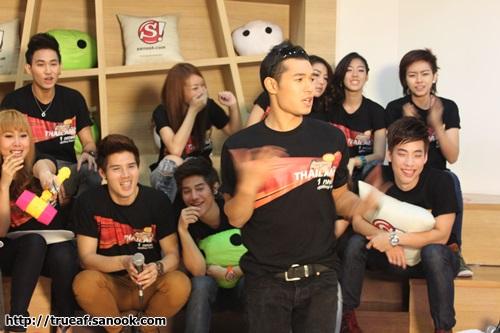 ภาพบรรยากาศ Sanook! Live Chat นักล่าฝัน 12 คน