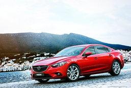 2014 Mazda 6  อวดโฉมตัวจริง ก่อนเปิดตัวที่ Paris