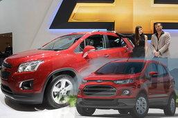 ประชันโฉม Chevrolet Trax VS. Ford Eco Sport  คันไหนหล่อกว่า