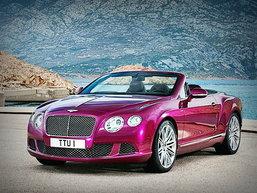 Bentley continental GT Speed Convertible  หลุดก่อนเปิดตัว ..คันหรูตัวงาม