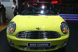 รถยนต์ Motor show 2010 -MINI COOPER