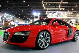 รถยนต์ Motor show 2010 -Audi