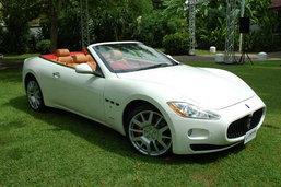 Maserati GranCabrio สปอร์ตหรู 4 ที่นั่ง ค่าตัว 17.5 ลบ