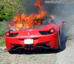 Ferari เรียกคืน 458 Italia หลังเจอไฟไหม้แล้ว 11 คัน