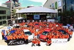 ฟอร์ด เฟียสต้า อวดโฉมทั่วไทย พร้อมส่งรถล็อตแรก 1,200 คัน