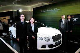 Bentley Continental GT Speed  รถสปอร์ตหรูใหม่ราคา  22 ล้านบาท