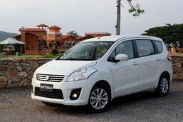 Suzuki Ertiga รถพ่อบ้านราคาเร้าใจ