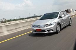 Sanook! Quick Drive  : Honda civic Hybrid สมรรถนะคุ้มค่าประหยัดลงตัว