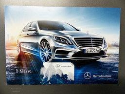 หลุดโบว์ชัวร์ ว่าที่  Mercedes Benz S-Class  เรือธงตัวหรู เตรียมในสัปดาห์หน้า