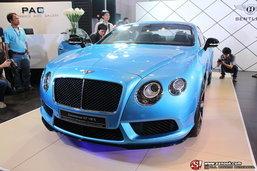 เบนท์ลีย์เปิดตัว Bentley Continental V8 S ใหม่ล่าสุดอย่างเป็นทางการในไทย