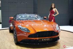 รถใหม่ Aston Martin ในงาน Motor Show 2016