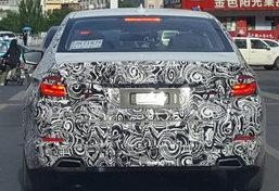 หลุด BMW 5-Series เจเนอเรชั่นใหม่โผล่วิ่งทดสอบในจีน