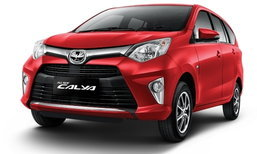 Toyota Calya เอ็มพีวี 7 ที่นั่งราคาถู๊ก..ถูกเผยโฉมที่อินโดนีเซีย