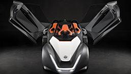Nissan BladeGlider ต้นแบบรถสปอร์ตพลังงานไฟฟ้าเปิดตัวที่บราซิล