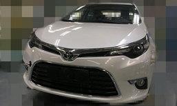 หลุด 2017 Toyota Levin ใหม่ เตรียมเปิดตัวที่จีน 1 พ.ย.นี้