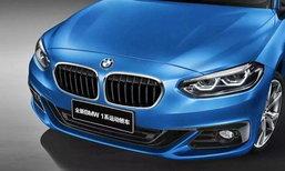 ภาพใหม่ BMW 1-Series Sedan ก่อนเปิดตัวในงานกวางโจวมอเตอร์โชว์ 2016
