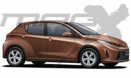 ภาพร่าง Toyota Yaris เวอร์ชั่นยุโรปใหม่ ปรับดีไซน์โฉบเฉี่ยวยิ่งขึ้น