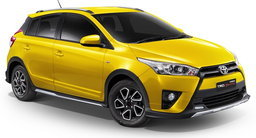 2016 Toyota Yaris TRD Sportivo รุ่นพิเศษพร้อมตัวถังสีเหลือง เคาะ 6.49 แสน