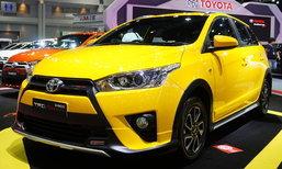 2016 Toyota Yaris TRD Sportivo เวอร์ชั่นสีเหลืองใหม่ เคาะ 6.49 แสนบาท