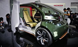 Honda NeuV ใหม่ ต้นแบบรถยนต์เทคโนโลยี AI เผยโฉมที่ CES ASIA 2017