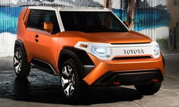 Toyota TJ Cruiser อาจเป็นชื่อใหม่ของ FJ Cruiser