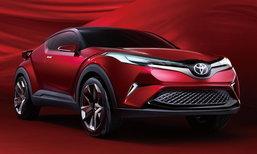 Toyota Fengchao Way ต้นแบบ C-HR เวอร์ชั่นจีนเผยโฉมที่งานออโต้เซี่ยงไฮ้ 2017