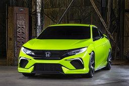 Honda Civic Concept 2016 ใหม่ เผยโฉมในงานนิวยอร์คออโต้โชว์