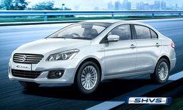 Suzuki Ciaz Hybrid เปิดตัวแล้วที่อินเดีย เริ่มต้นที่ 4.67 แสนบาท