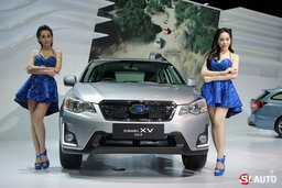 ไปดูบูธ Subaru ที่งานมอเตอร์เอ็กซ์โป 2015