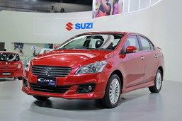 Suzuki Ciaz RS ใหม่ เสริมความสปอร์ตยิ่งขึ้น เคาะราคา 6.75 แสนบาท