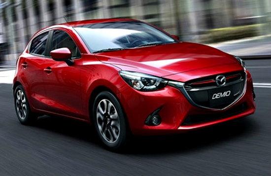 ราคารถใหม่ Mazda ในตลาดรถยนต์เดือนมีนาคม 2559