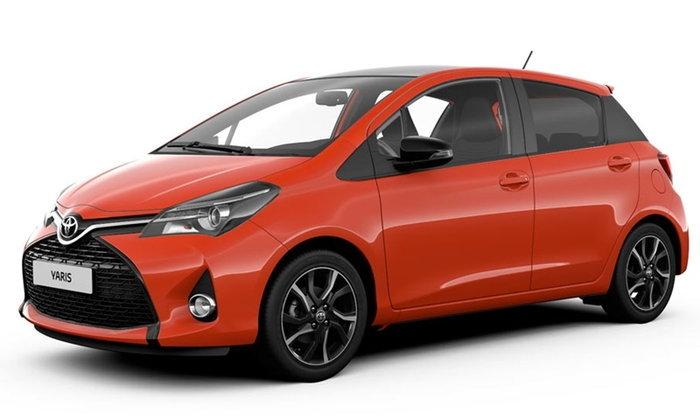 Toyota Yaris Orange Special Edition จำนวนจำกัด 300 คันเผยโฉมที่อังกฤษ