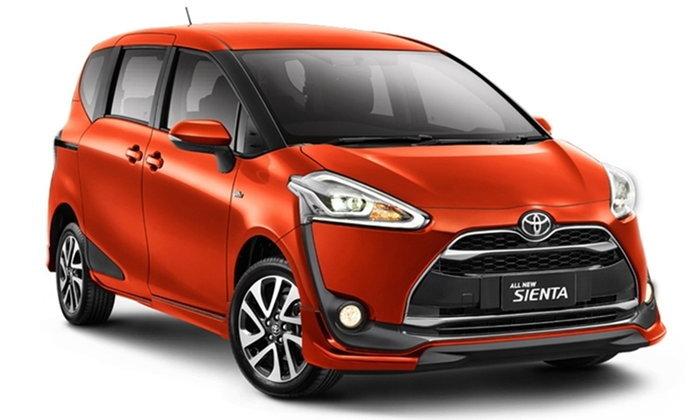 ราคารถใหม่ Toyota ในตลาดรถประจำเดือนกันยายน 2559