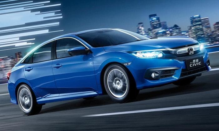 Honda Civic 1.0 เทอร์โบเคาะราคาในจีนแค่ 5.98 แสนบาท