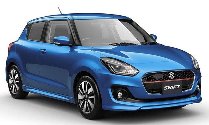 2017 Suzuki Swift ใหม่ เปิดตัวแล้วที่ญี่ปุ่น พร้อมขุมพลัง 1.0 ลิตรเทอร์โบ