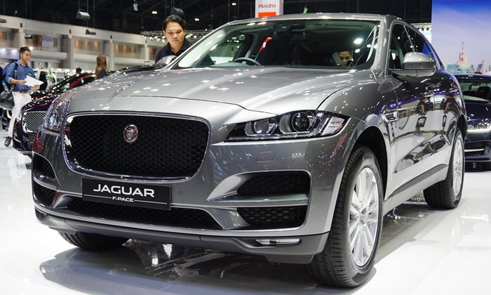 2017 Jaguar F-PACE ใหม่ เผยโฉมที่งานมอเตอร์เอ็กซ์โป