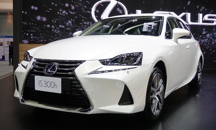 เปิดตัว 2017 Lexus IS ไมเนอร์เชนจ์ใหม่เคาะเริ่ม 3.065 ล้านบาท