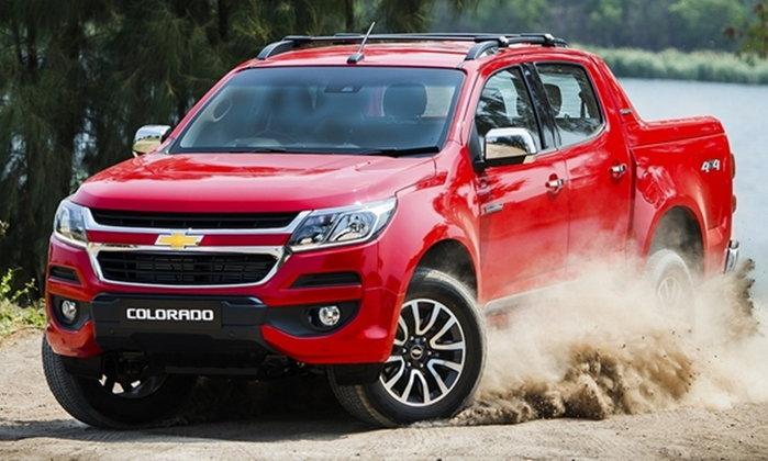 ราคารถใหม่ Chevrolet ในตลาดรถประจำเดือนมีนาคม 2560