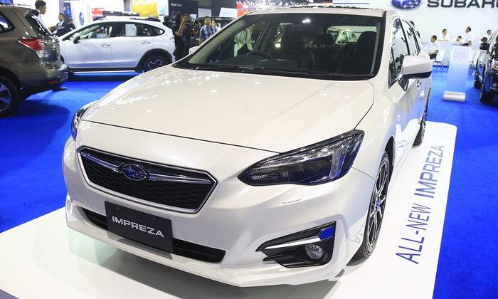 รถใหม่ Subaru - Motorshow 2017