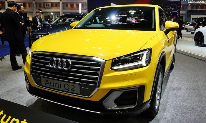 Audi Q2 ใหม่ ครอสโอเวอร์รุ่นเล็กราคาพิเศษเพียง 2.299 ล้านบาท