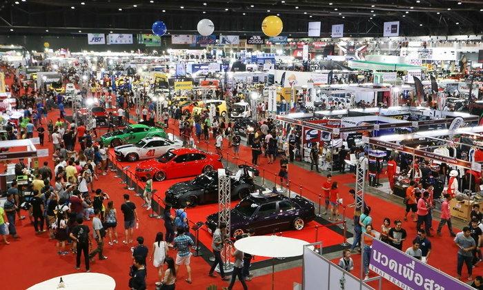 Bangkok International Auto Salon 2017 งานรถแต่งและอุปกรณ์โมดิฟายวันที่ 5-9 กรกฎาคม 2560 นี้