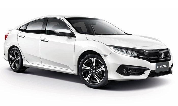 ราคารถใหม่ Honda ในตลาดรถยนต์ประจำเดือนเมษายน 2560