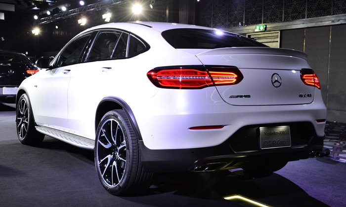 Mercedes-Benz GLC Coupé 2017 รุ่นประกอบไทย ราคา 3,990,000 บาท