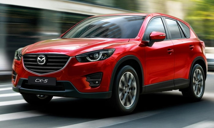 ราคารถใหม่ Mazda ในตลาดรถยนต์เดือนมิถุนายน 2560