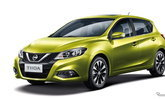 2017 Nissan Tiida ใหม่ ถูกเปิดตัวอย่างเป็นทางการที่งานปักกิ่งมอเตอร์โชว์