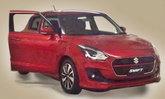 หลุด 2017 Suzuki Swift เจเนอเรชั่นใหม่ล่าสุด