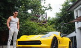 เพชรจ้า ดีเจหนุ่ม อารมณ์ดี กับรถสุดหรูคันใหม่ Chevrolet Corvette Stingray Coupe