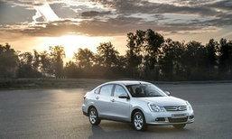 New Nissan Almera  เวอร์ชั่นนี้จัดหนักเพื่อตลาดรัสเซียเท่านั้น
