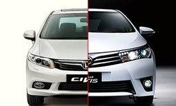 เทียบสเป็ค! Honda Civic และ Toyota Altis ใครเหนือกว่าใคร