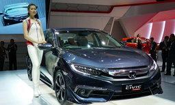2016 Honda Civic Turbo ใหม่เปิดตัวแล้วที่อินโดฯ เผยรูปลักษณ์สปอร์ตกว่าไทย